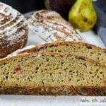 Saft-Trester Brot mit Sauerteig und Weizen