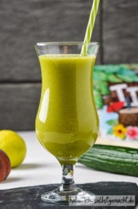 Sommer Pfirsich Vitamin Cocktail