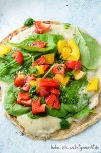 Metabolic Balance Pfannkuchen Bohnen Gemüse