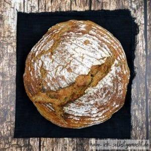 Rezept Weizen-Sauerteigbrot mit geröstetem Altbrot