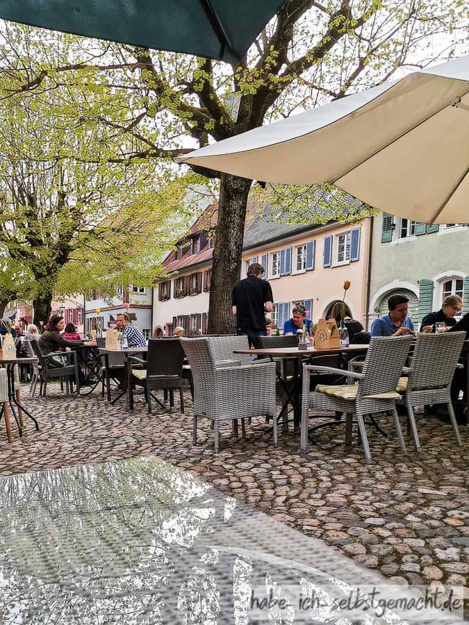 Nettes Restaurant in der Altstadt von Burkheim
