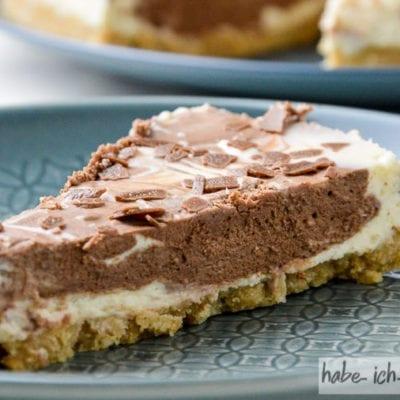 No Bake Schokoladen Tarte