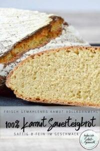 Reines Kamut Sauerteig Brot Rezept