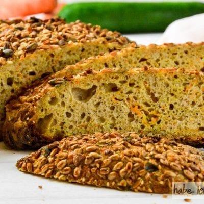 Brot #43 – Tinas Vitalbrot mit Karotte und Zucchini