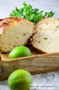 Limette Minze Brot