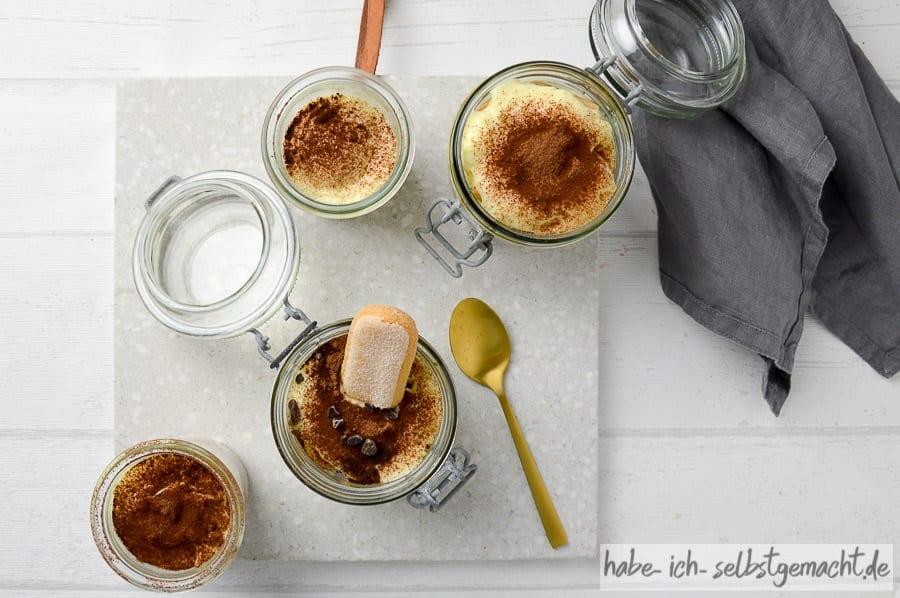 Schoko Tiramisu ohne Ei und Kaffee