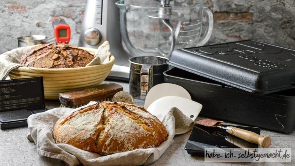 Anleitung Brot Backen - Welches Zubehör brauche ich