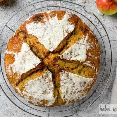 Brot #49 – Apfel Calvados Kruste