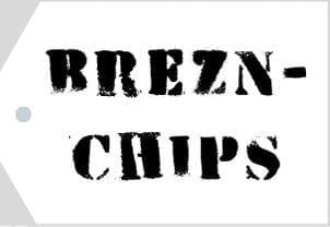 Etikett Brezen Chips