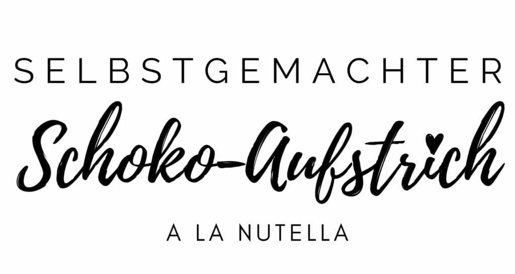 Nutella Schokoaufstrich Etikett Freebie