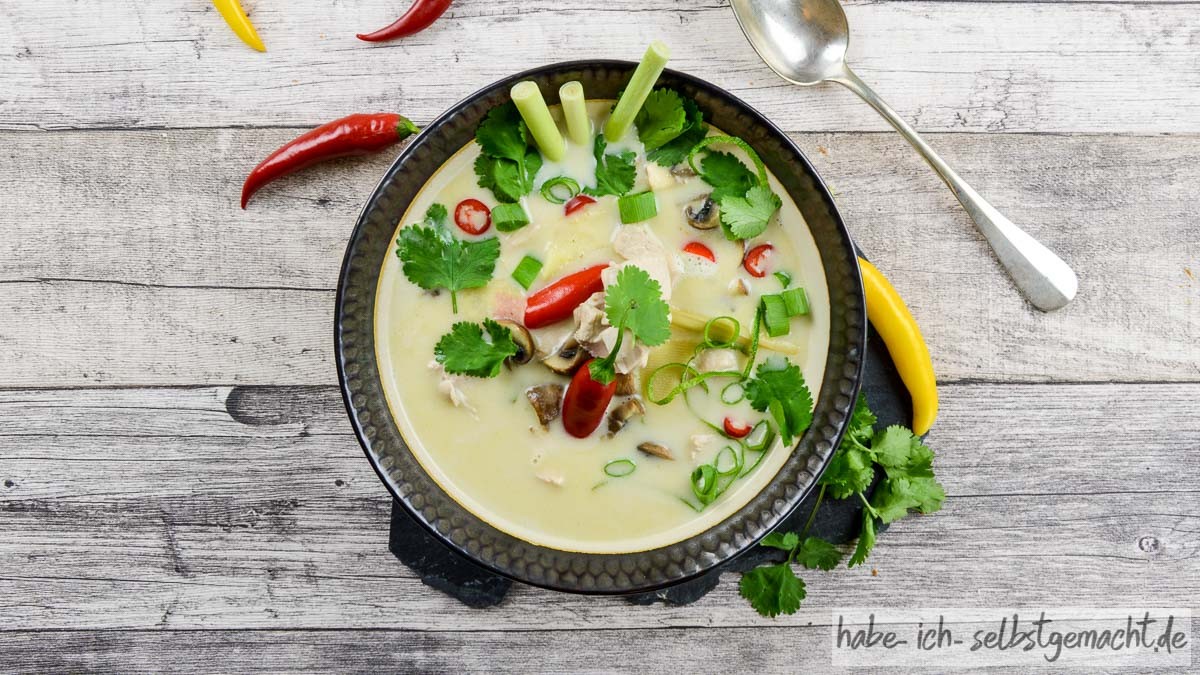 Tom Kha Gai Suppe - Titelbild