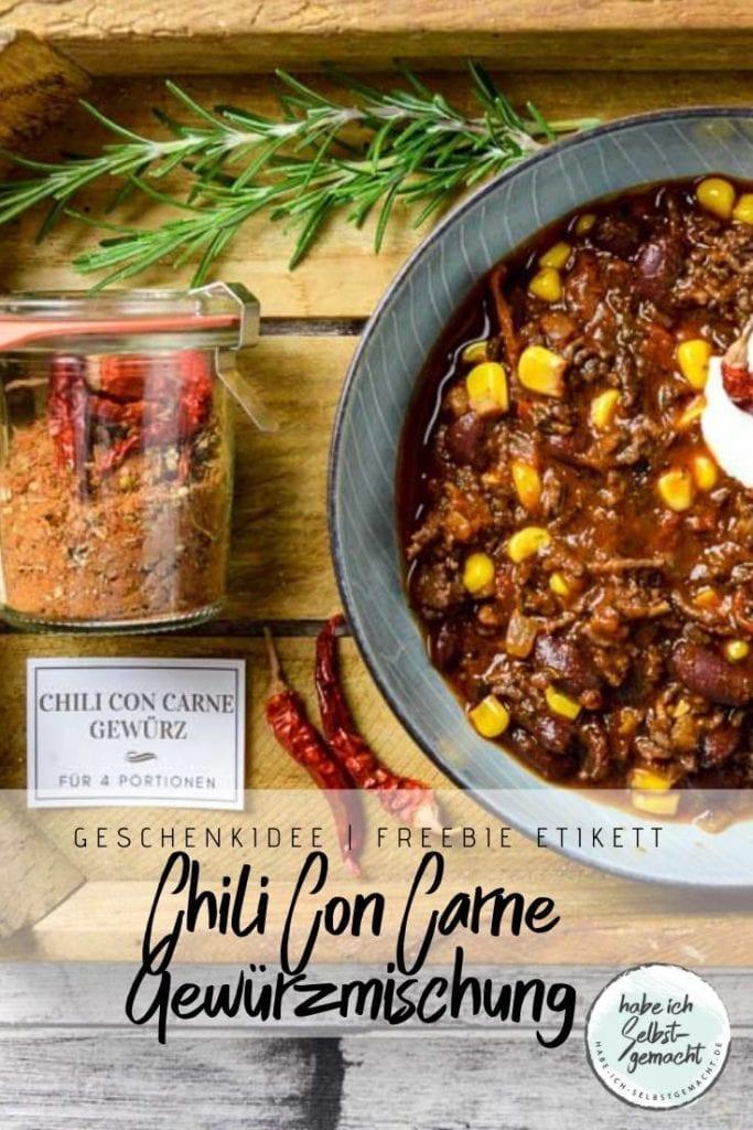 Chili Con Carne Gewürzmischung