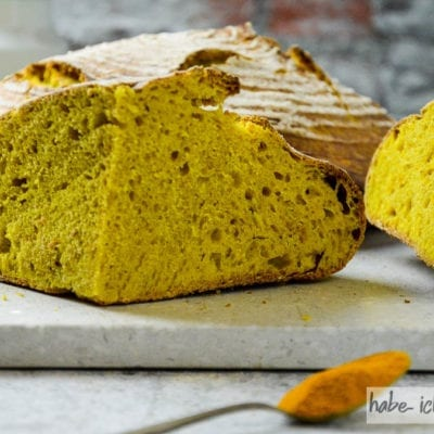 Brot #51 – Kurkuma Brot (gelbes Brot)