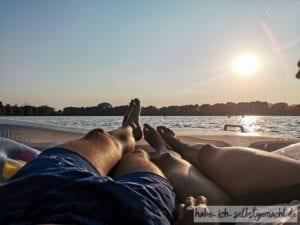 Entspannt auf dem See