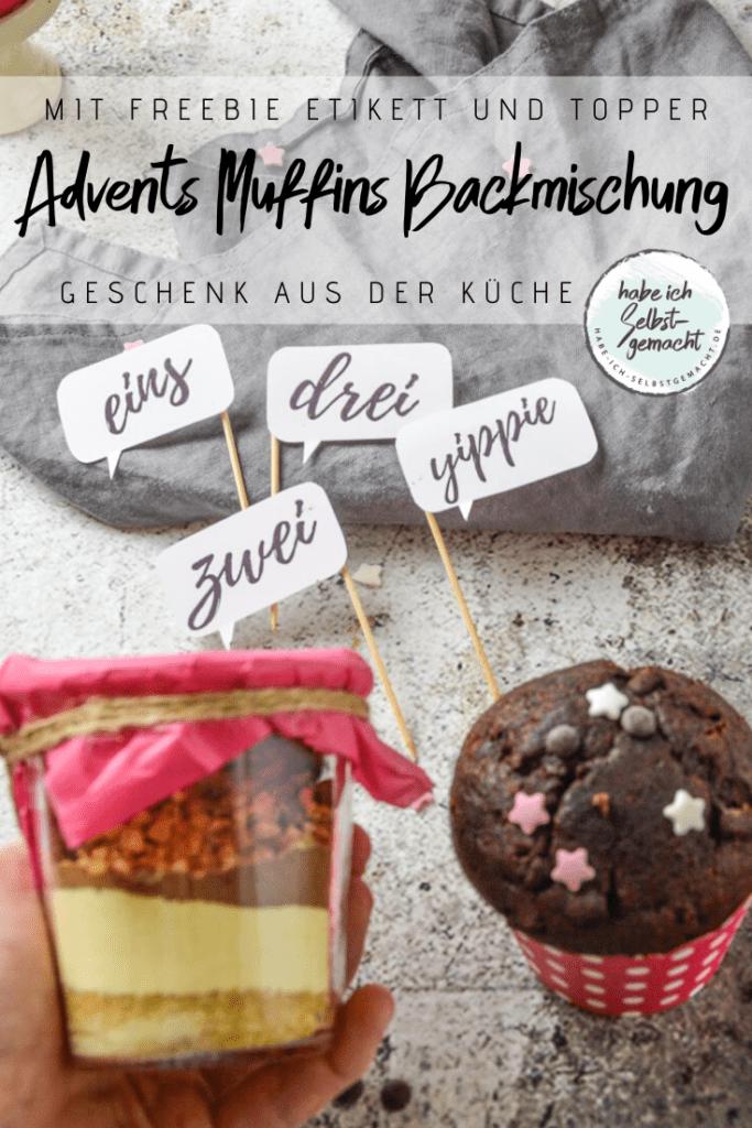 Flyer für Advents Muffins