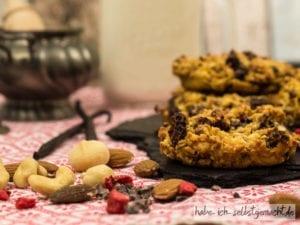 Gesunde Christmas Cookies - Backmischung im Glas
