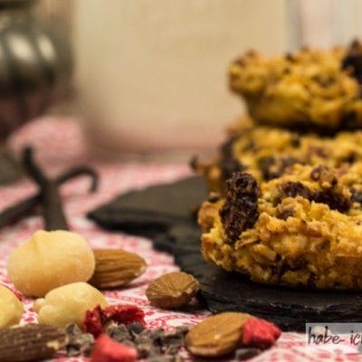 Gesunde Christmas Cookies – Backmischung im Glas