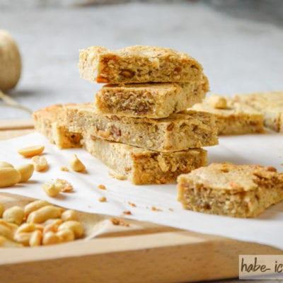 Erdnuss Proteinriegel selbermachen (LC, ohne Ei)