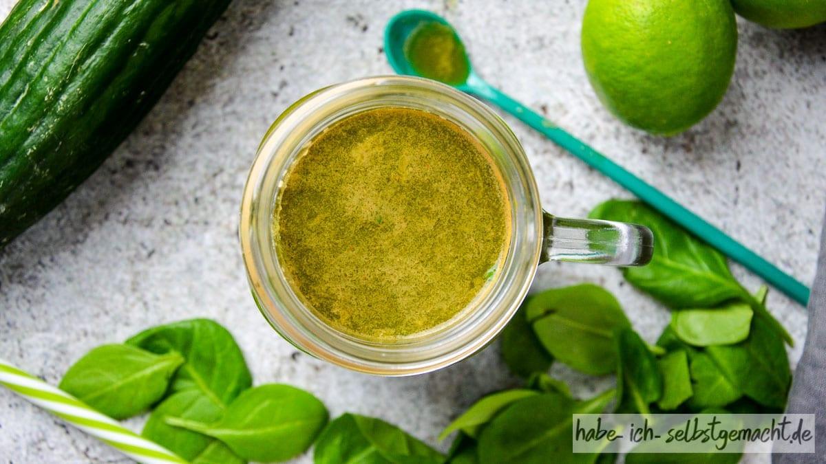 Grüner Detox Saft