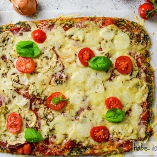 Ich bin auf Diät, ich kann Pizza essen