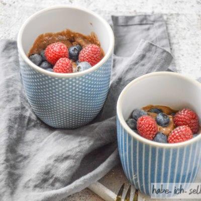 Schneller Schoko Tassenkuchen (Mug Cake)