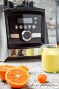 Orangen Curd aus dem Vitamix