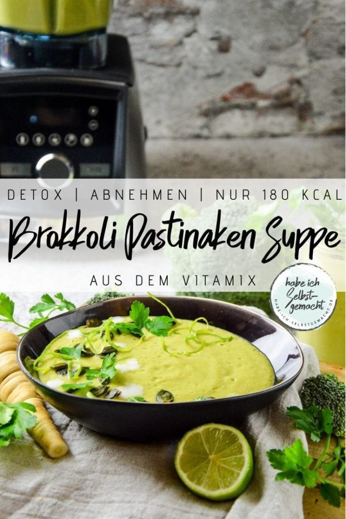Brokkoli Pastinaken Suppe aus dem Vitamix