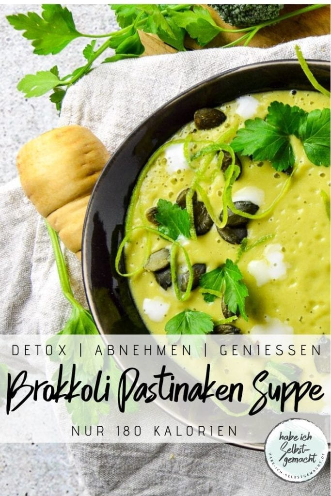 Brokkoli Pastinaken Suppe