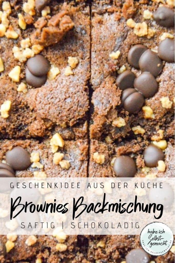 Brownies Backmischung im Glas