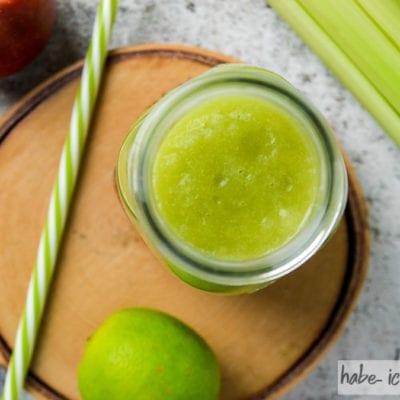 Grüner Fitness Smoothie für jeden Tag