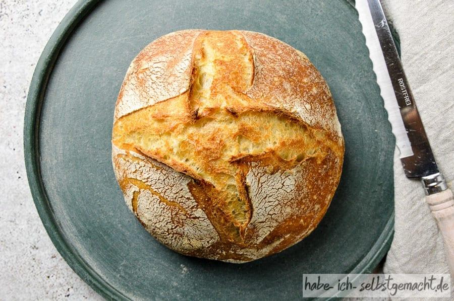Rezept für ein einfaches Brot
