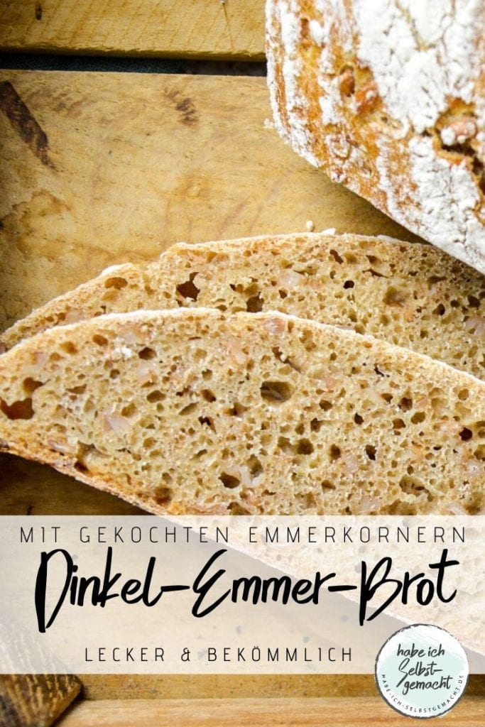 Emmer Brot Pinterest Flyer