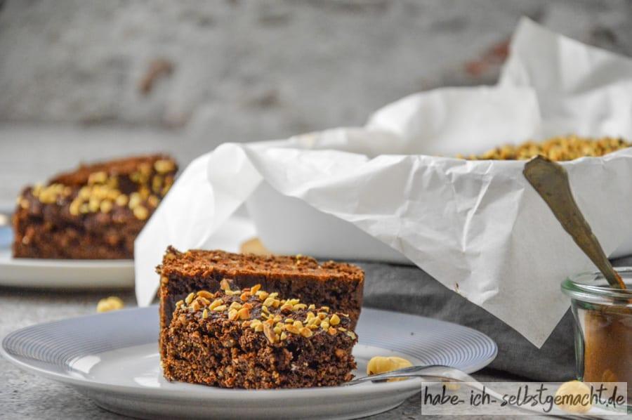 Low Carb Nusskuchen ohne Mehl und Zucker