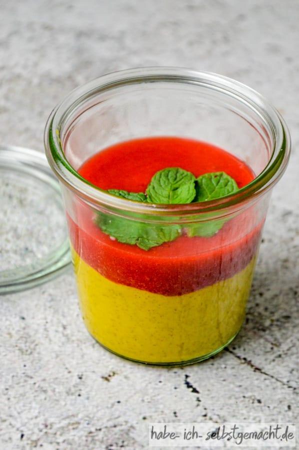 Mango Bowl als Meal Prep