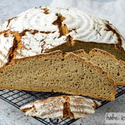 Brot #56 – Reines Roggenbrot ohne Sauerteig