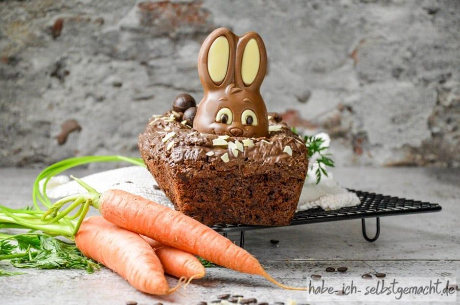 Schoko Karottenkuchen Backmischung