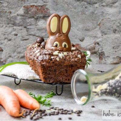 Schoko-Karottenkuchen auch als Backmischung