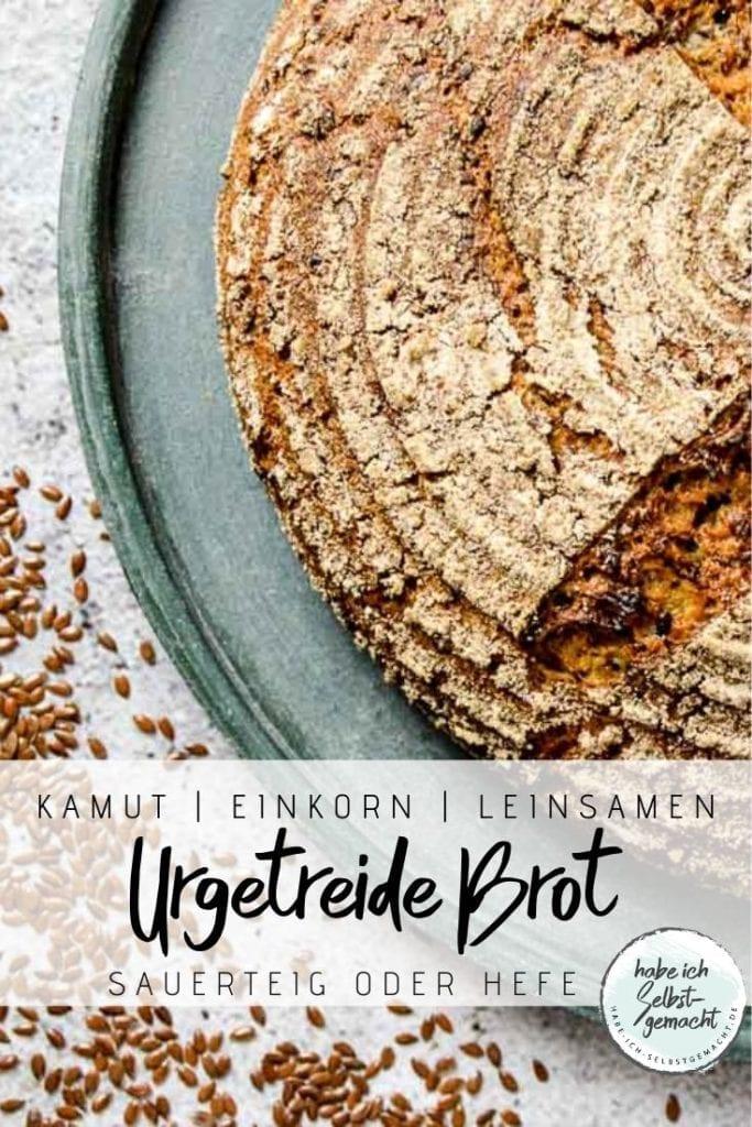 Urgetreide Brot Pinterest Flyer
