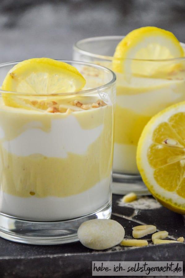 Zitronen Joghurt Nachtisch Lemoncurd