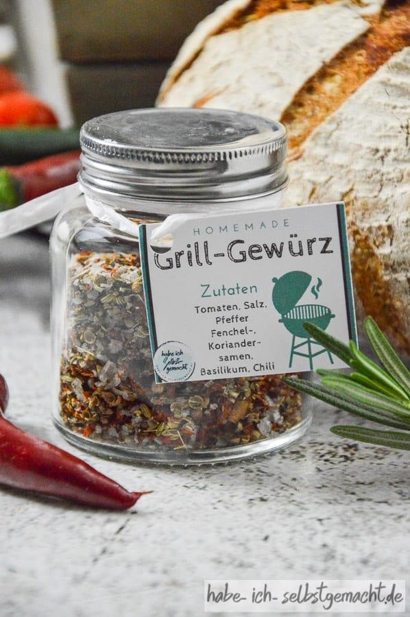 DIY Grillpaket - Grillgewürz