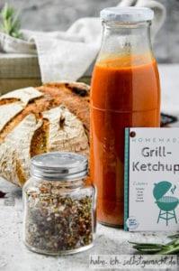 DIY Grillpaket Ketchup