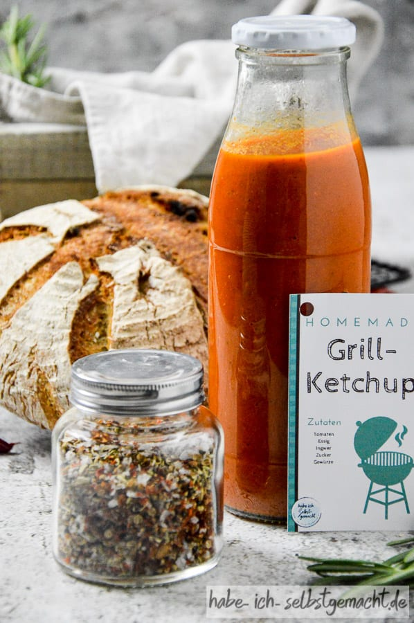 DIY Grillpaket Ketchup
