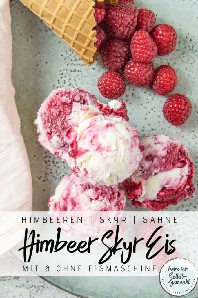 Himbeer Skyr Eis