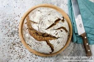 Leinsamen Brot