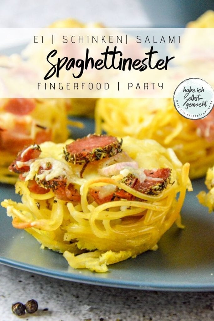 Spaghettinester Partyfood