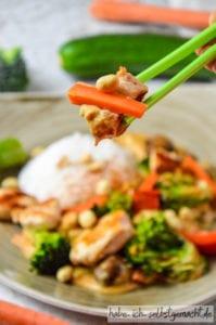 Thai Curry mit Hähnchen