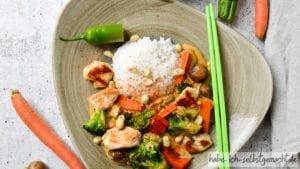 Thai Curry mit Hühnchen