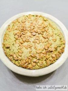 Ayurvedisches Frühstücksbrot - Stückgare