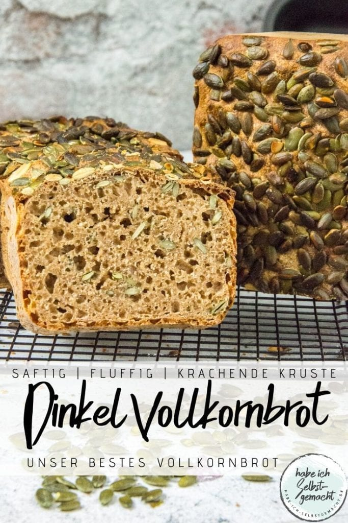 Dinkel Vollkornbrot - Pinterest Flyer