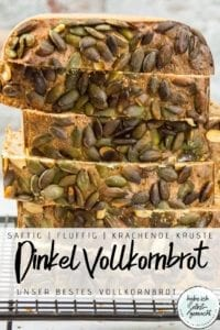 Dinkel Vollkornbrot - Pinterest Flyer